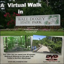 """""""WALL DOXEY TRAIL WALK DVD"""" great for treadmill, End boring exercise"""