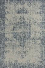 Tappeto salotto moderno blu in cotone acrilico tappeti classici sitap 160x235 cm