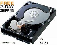 2000GB 2TB Hard Drive Internal SATA 3.5 For ZOSI DVR NVR FREE 2 DAY SHIPPING