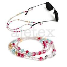 Beaded Glasses Sunglasses Spectacle Beads Chain Fashion Strap Cord Holder Neck