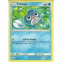 Poliwag - 37/214 - Common Card - Pokemon TCG Sun & Moon Unbroken Bonds Cards