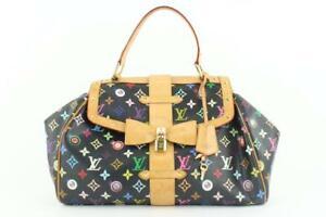 Louis Vuitton Black Multicolor Eye Love You Sac Retro GM Bag 125lvs429