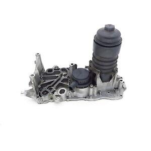 oil filter housing Audi Q7 4L 4.2 TDI V8 03.06- Oil filter holder