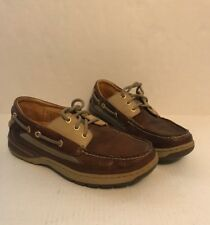 Sperry Top-Sider Gold Collection Cup Brown Leather Boat Shoes M Size 7.5 M