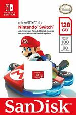 SanDisk 128GB Micro SD MicroSDXC UHS-I Memory Card for Nintendo Switch 128 GB