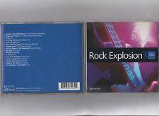 Rock Explosion V/A = (Cd - 16 Tracks) = Jimi Hendrix Flaming Groovies Love Saxon