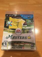PLAYSTATION 3 MASTERS TIGER WOODS PGA TOUR 12 BLES01177 GOLF EA SPORTS 2016