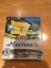 PLAYSTATION 3 MASTERS TIGER WOODS PGA TOUR 12 BLES01177 GOLF EA SPORTS 2016