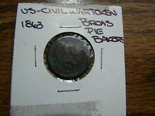 1863 Wash/Flags Lt.Corr1 Side Other One Country Civil War Token Make Offer Obo!