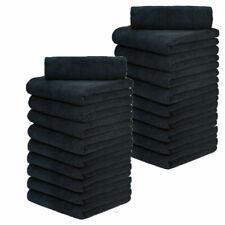 "Bulk Edgeless microfiber towels cleaning towel plush 16x16"" 380 gsm lint free"