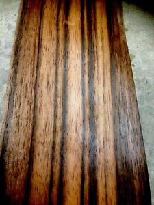 Furnier - Makassar - Ebenholz - (Amara) -  2 Blatt  3250 x 135 x 0,6 mm