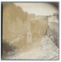 Tunisie, Téboursouk, La Fontaine Romaine  vintage citrate print Tirage citrate