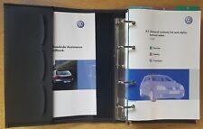 GENUINE VW GOLF V Mk5 HANDBOOK OWNERS MANUAL RCD 500 WALLET 2003-2008 # D-392 !