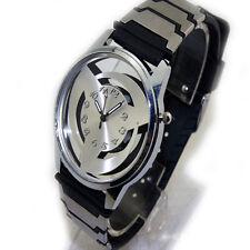 Anime Naruto Syaringan Quartz Watch Bracelet Wrist Watch Hollow Cosplay Gift New