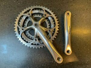 SHIMANO ULTEGRA FC-6503 VINTAGE TRIPLE CHAINSET 2000s *A1* CAMPAGNOLO RIVAL