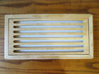 Vintage+1990s+Wood+Cutting+Board+%2F+Cooling+Rack+for+Homemade+Bread+-+USED