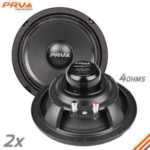 """2x PRV Audio 6MB250-NDY-4 Midbass Neodymium 6.5"""" Speakers 4 Ohm 6MB PRO Neo 500W"""