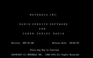 Motorola Programming Software Floppy Disc Service