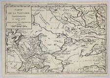 Antique map -De La Tour, Carte de la Tartarie Independante, 1780