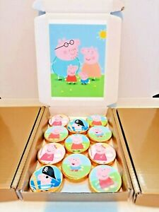 Peppa Pig Chocolate Coins, Box of 20, Stocking Filler,