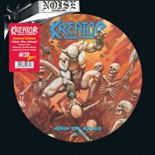 Kreator - After The Attack LP Picture Disc Vinyl - PLEASURE TO KILL ALBUM - NEW