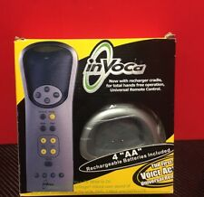 Invoca Voice Activated Universal Remote Control 4 in 1 Rechargeable Circa 2000