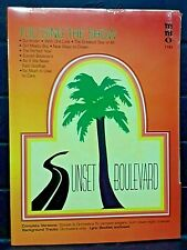 """Sunset Boulevard"" - You Sing The Show, Music Minus One #1193, Lyrics and Cd"