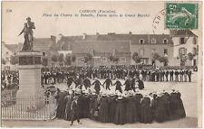 CARHAIX (29) - Place du Champ de Bataille, Danse après le Grand Marché