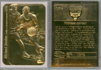 1986 MICHAEL JORDAN FLEER STICKER ROOKIE 23K GOLD CARD LIMITED EDITION