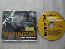 CD-EMINEM LOSE YOURSELF-RAP USA-8 MILE SOUNDTRACK-VIDEO-(CD SINGLE)-5TRACK-////