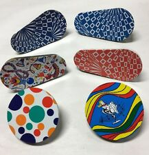 Vintage Tin Noise Makers Party New Years Eve Usa ~Lot Of 6