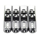 4 Pc Individual Bass Bridges for 4 Strings Electric Bass Guitar Replacement Part