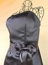 "Black ""Angeline"" Strapless Formal Dress, Suit Size 12, Wedding"