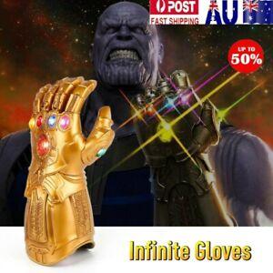 Thanos Infinity War Gauntlet LED Light Glove for Kid Size Marvel Avengers Toy AU