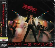 JUDAS PRIEST UNLEASHED IN THE EAST JAPAN 2012 RMST CD+4 - NEW/FACTORY SEALED!