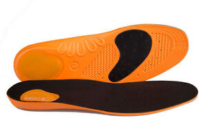 Walking Hiking running orthotic insoles with gel pads for extra comfort