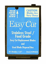 Box Cutter Blades (Stainless Steel - 81 count)