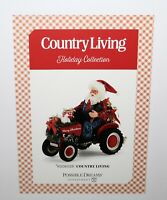 NEW Dept 56 Clothtique Possible Dreams & Country Living Magazine COUNTRY LIVING