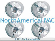 """4x 8"""" Round In-Line Air Duct Booster Fan 115 Volt T9-MCM8 T9-DB8 DB8 500 CFM USA"""