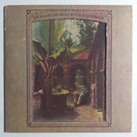 "Jackson Browne ""For Everyman"" Exc. Cond. 1973 1st Press LP Asylum SD 5067 Tested"
