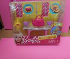 2012 Barbie .....BREAKFAST SET.... Set
