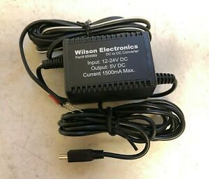 Wilson 5V DC to DC Converter/Vehicle Hardwire Power Supply Part# 859989