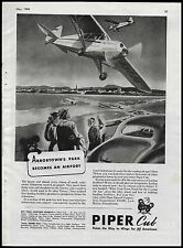 1944 PIPER CUB Aircraft Plane AD Planning WWII WW II Victory & post-war airport