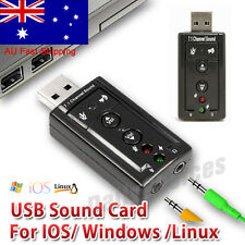 Computer Components Sound Cards External Usb Sound Card Channel 5.1 7.1 Optical Audio Card Adapter For Pc Computer Laptop Hot New Professional Sophisticated Technologies