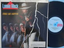 Lonnie Mack Rare OZ Promo LP Strike the lightning NM '85 Stevie Ray Vaughan