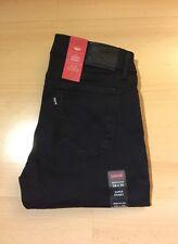 Levi's Women's 710 Flawless FX Super SKINNY Jeans Black Cove 177800005 Regular W31/l32
