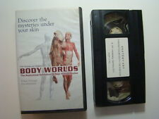 Body Worlds VHS The Anatomical Exhibition Of Real Human Bodies Prof. von Hagens