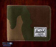 New Herschel Supply Co. Hank Woodland Camo Mens Bifold Wallet