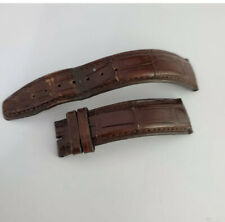 IWC Pilots Brown Alligator Leather Watch Strap 20mm 100% Authentic