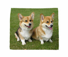 Corgi Pembroke Dog Microfibre Glasses Camera Lens Phone Screen Cleaning Cloth